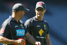 Michael Clarke is a 50-50 chance to play in the Melbourne test. Photo / Getty Images