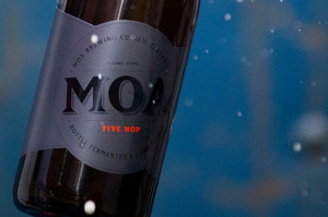 Moa Beer was the only pure equity listing. Photo / Greg Bowker