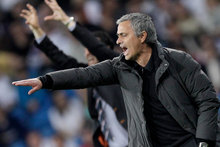 Defiant Real Madrid coach Jose Mourinho insisted today that he would not be resigning. Photo / Getty Images.