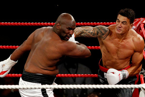 Sonny Bill Williams vs Clarence Tillman.Photo / File