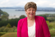 Dame Wendy Pye's publishing business has helped to teach English to children in many countries.  Photo / Richard Robinson