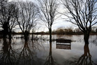 The UK is on the brink of having had its wettest year since records began. Photo / AP