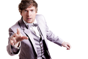 Rhys Darby is getting used to everyone calling him by his full name. Photo / Supplied