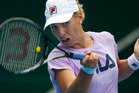 New Zealand tennis player Maria Erakovic. Photo / Dean Purcell