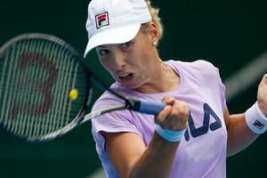 New Zealand tennis player Maria Erakovic. Photo / Dean Purcell