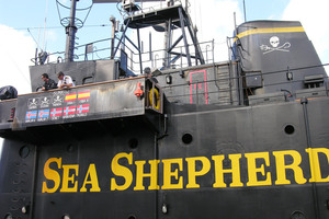 Sea Shepherd Conservation ship. Photo / NZPA