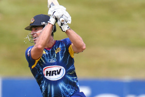 Ryan ten Doeschate was a big factor in Otago's win.  Photo / Getty Images