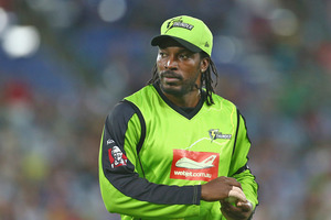 Chris Gayle has been well below his best - averaging just 13 from six innings. Photo / Getty Images