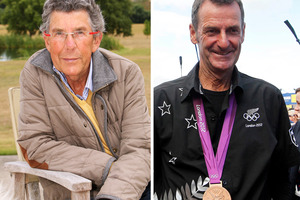 Sir Paul Holmes and Sir Mark Todd. Photos / Glenn Taylor/Christine Cornege