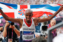 Mo Farah. Photo / Mark Mitchell