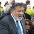 Maori party co-leader Dr Pita Sharples speaks on Te Tii Marae. Photo / Natalie Slade