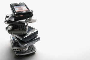 One in three adults send a broken or functioning mobile phone to a landfill each year. Photo / Thinkstock