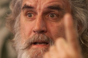Scottish comedian and actor Billy Connolly is joining Peter Jackson's Hobbit films. Photo / Glenn Jeffrey