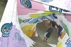 The Jasper Middleton/Cut Collective vortex at Splore 2010. Photo / Supplied