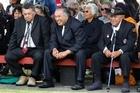 Nga Puhi elders at Te Tii Marae the day before Waitangi Day. Photo / Natalie Slade