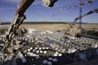 Building the foundations for the 23,000-tonne fusion reactor. Photo / Iter