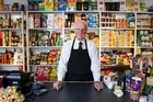 Colin Johnson of Johnson's Grocery. Photo / Simon Baker