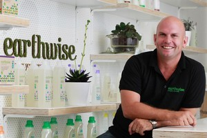 Earthwise director Jamie Peters sees the potential to quadruple sales through growth in Australia. Photo / Steven McNicholl