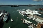 At least 80 cruise ships are expected to dock in Auckland this year. Photo / Sarah Ivey