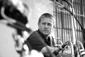 Charlie Hunnam's Jax re-evaluates his gang life. Photo / Supplied