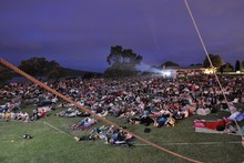 The annual free series of Movies in Parks kicks off this weekend at Tahaki Reserve in Mt Eden. Photo / Supplied
