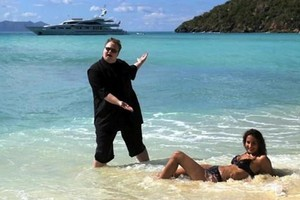 How did such a big fish as Kim Dotcom, alleged to have masterminded such a sophisticated and successful online pirating operation, end up in the North Shore District Court of New Zealand? Photo / Supplied
