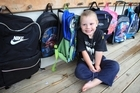 Three year old Cane Bradley at his pre-school Kids Count in Takanini. Photo / Greg Bowker