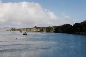The Waikato block includes Kawhia Harbour. Photo / Christine Cornege