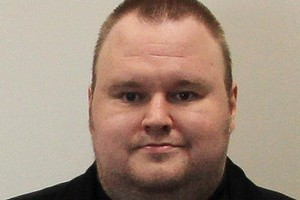 Kim Dotcom is in custody. The United States wants him sent there for trial. Photo / Greg Bowker