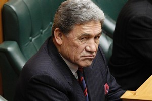 Winston Peters. Photo / Mark Mitchell