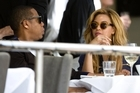 Beyonce Knowles and Jay Z have lunch at Soul bar in Auckland's Viaduct. Photo / File