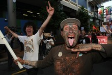 Anti-privatisation protesters are gearing up for a fight. Photo / Greg Bowker