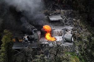 Questions over the cause of the explosion at the Pike River mine are still being discussed at the inquiry into the disaster. File photo / NZ Herald