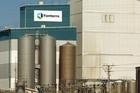 Fonterra's Hawera dairy factory. Photo / NZPA
