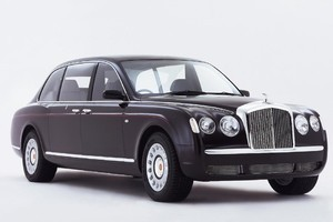 Bentley State Limousine. Photo / Supplied