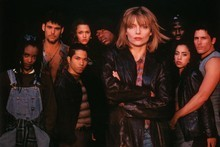Michelle Pfeiffer in Dangerous Minds shows how to deal with difficult Los Angeles students. Photo / Supplied