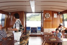 Karapiro Cruiser offers refreshments to enjoy while observing life on the lake. Photo / Supplied