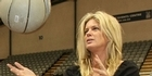 View: Rachel Hunter joins wheelchair basketball game