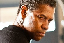 Denzel Washington appears in a scene from Safe House. Photo / Supplied