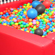 A ballpit inside the children and nanny wing of the Dotcom mansion. Photo / Janna Dixon