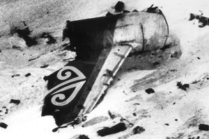 The families of the Air New Zealand TE901 flight crew need the closure a formal exoneration would bring. Photo / NZ Herald
