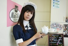 A maid cafe in Tokyo's Akihabara district. Photo / Creative Commons image from Wikimedia