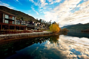 The Hilton Queenstown is situated amongst idyllic surroundings, perfect for some well-earned rest and relaxation. Photo / Supplied