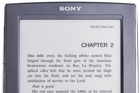 The Sony Reader electronic book portable document reader. Photo / Supplied