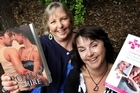 Jane Beckenham (left) and Louisa George are both romance writers club members. Photo / Sarah Ivey