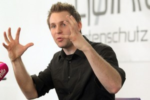 Austrian student Max Schrems is waging a campaign against Facebook's privacy practices. Photo / AFP