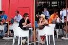 Wynyard Quarter's Jack Tar bar. Photo / Doug Sherring