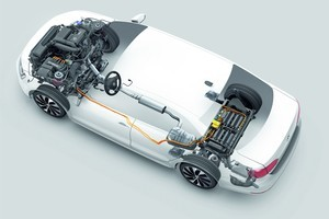 VW says its MQB platform will be the backbone of light and safe cars. Photo / Supplied