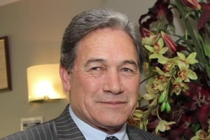 Winston Peters. Photo / NZ Herald