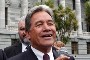Winston Peters will happily wreak havoc at question time. Photo / Mark Mitchell